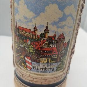 Gerz Other - Vintage Lidded Beer Stein German City Nurnberg